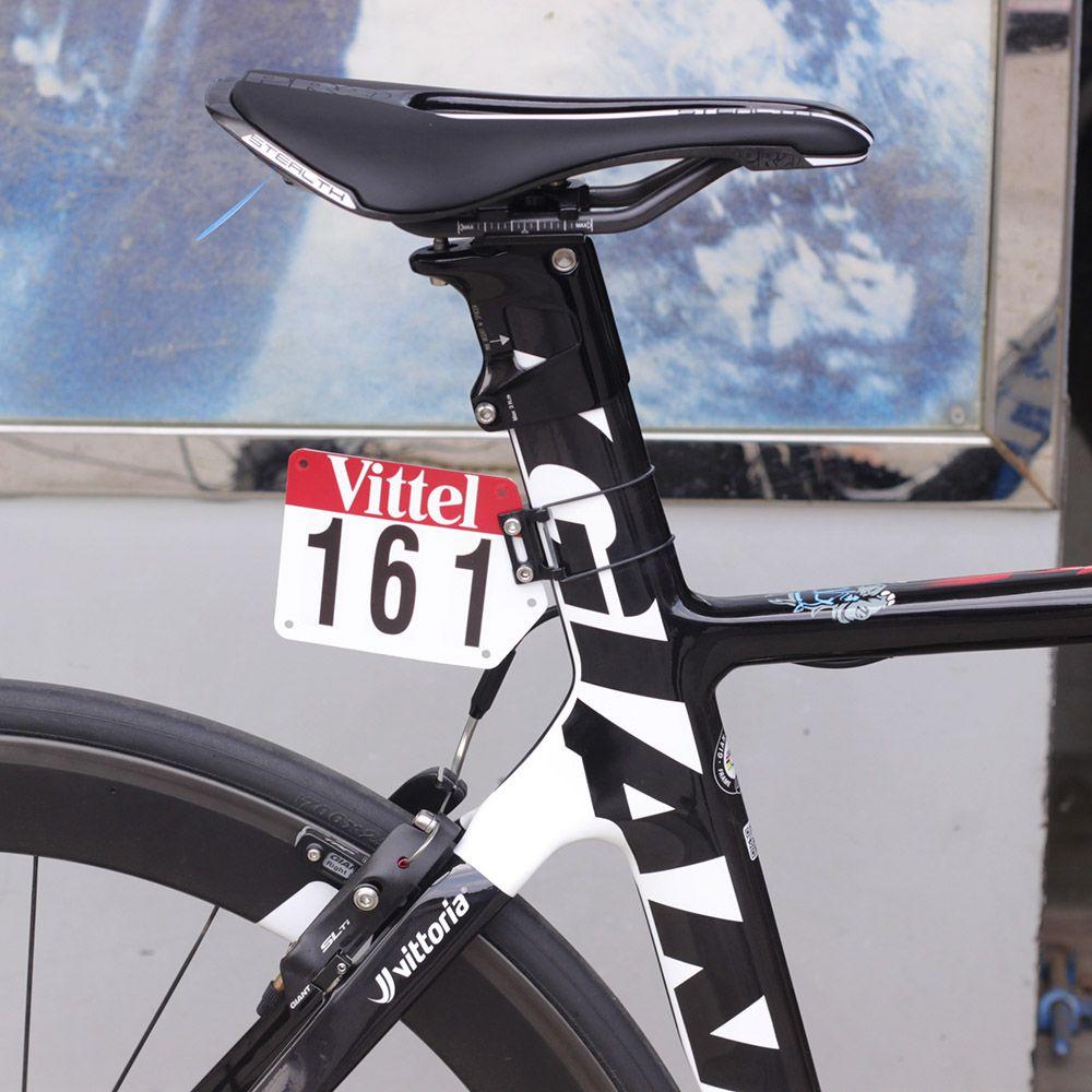 Custom Road Bike Triathlon Racing Number Plate Card Plate Vittel Decals Viny