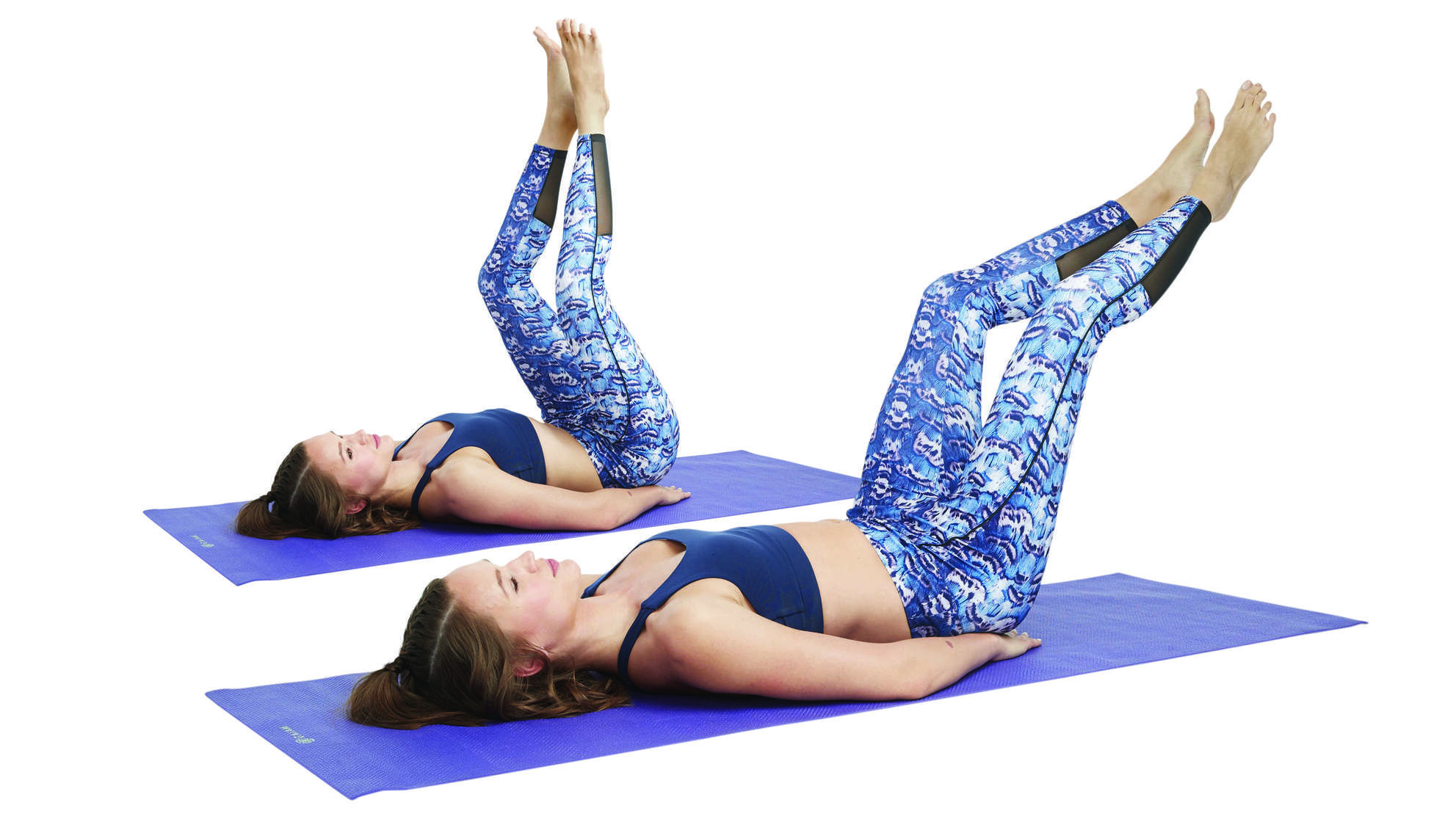 This At-Home Pilates Routine Will Tighten and Tone Your Entire Body #pilatesworkoutroutine