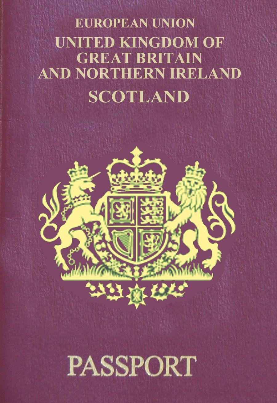 New Scottish Uk Passport Passport Ielts Birth Certificate