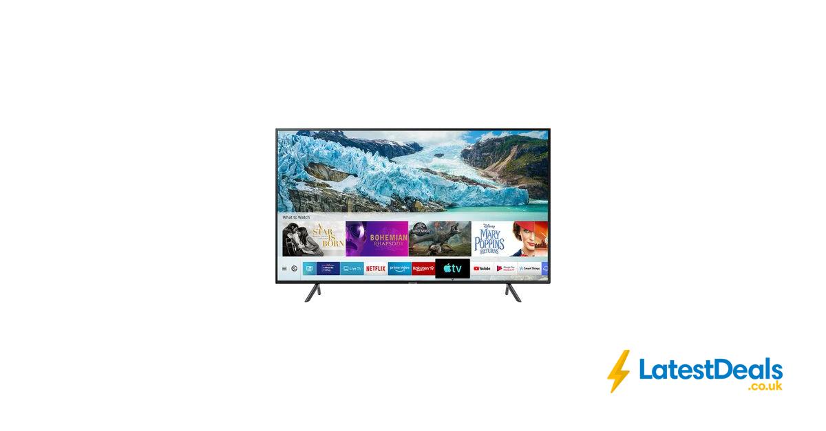 "*SAVE £700* SAMSUNG 75"" Smart 4K Ultra HD HDR LED TV FREE"