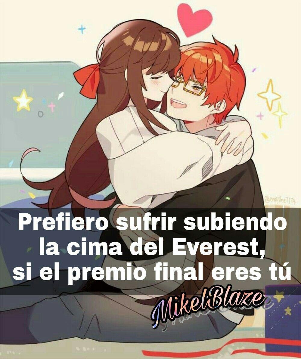 Frases anime, amor Mis frases Pinterest Anime