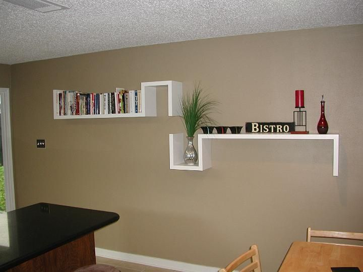 Look at these cool shelves for good storage solution | Home Office ...