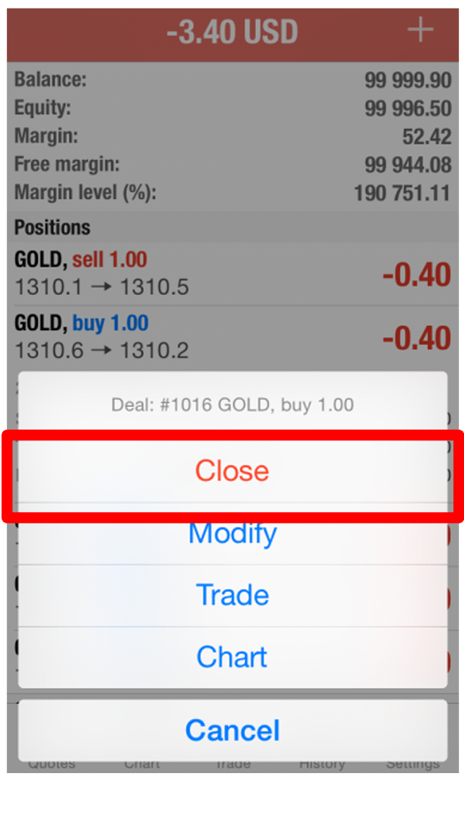 Forex Trading On Iphone Using Mt4 Mt5