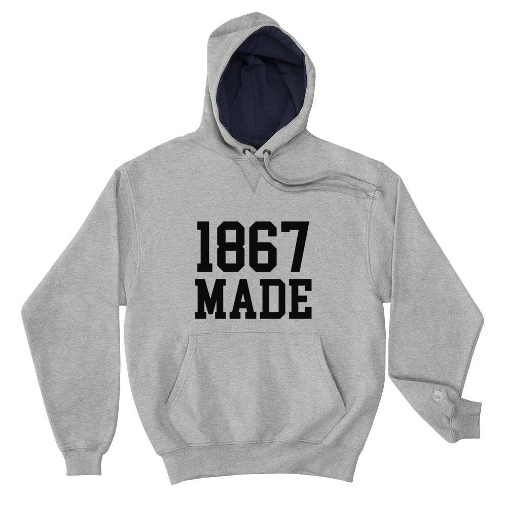 Alabama State University 1867 Made Unisex Champion Hoodie Mens Champion Hoodie Hoodies Champion Hoodie [ 1000 x 1000 Pixel ]