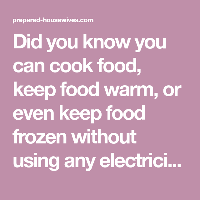 Warm Frozen Food In Microwave: Did You Know You Can Cook Food, Keep Food Warm, Or Even