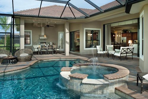 indoor home pool designs | pool design and pool ideas