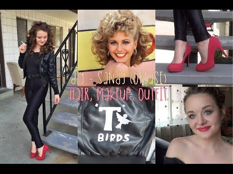 Halloween Hair How To Sandy From Grease P S By Prose Hair Grease Hairstyles Sandy Grease Hair Halloween Hair
