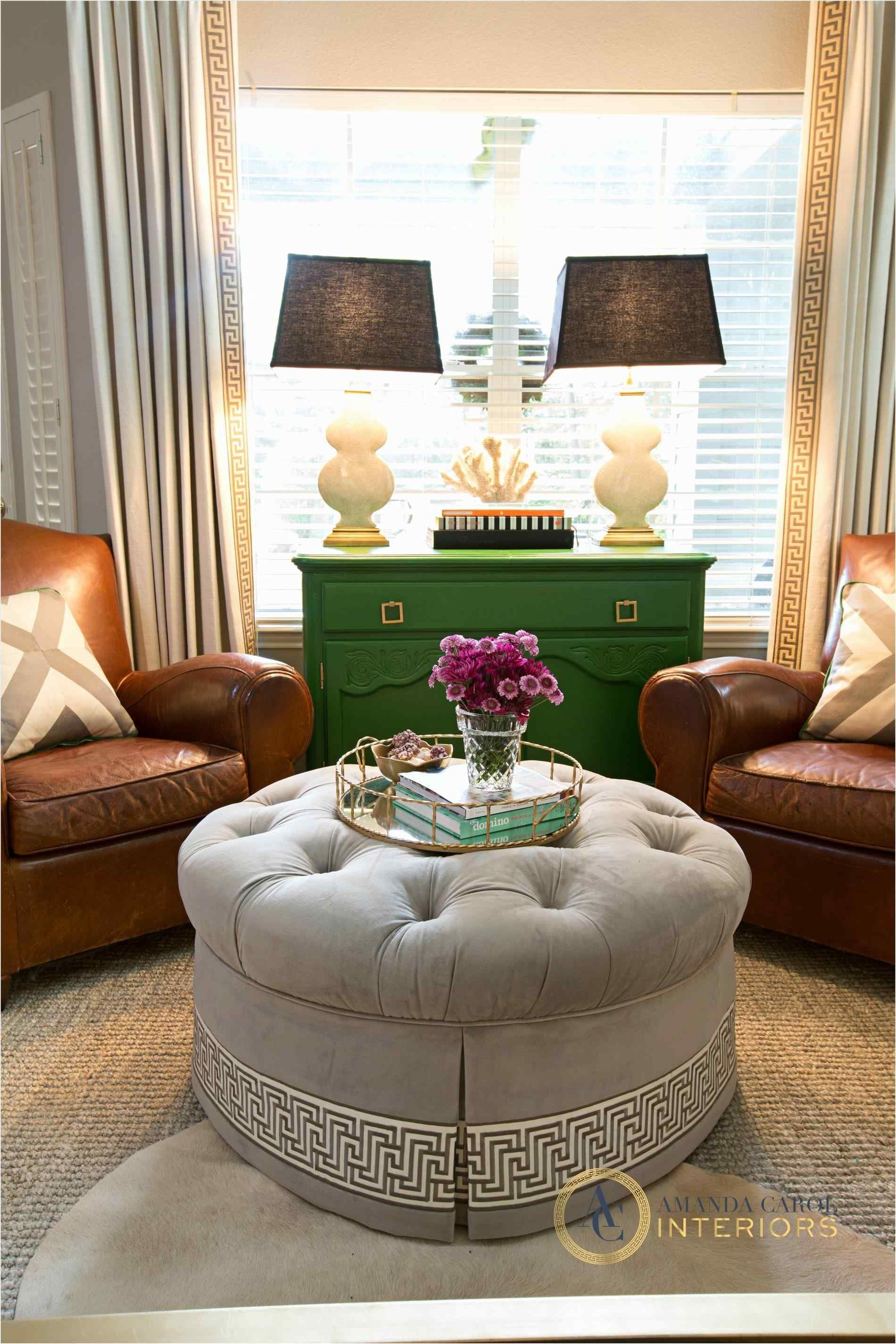19 wonderful living room with ottoman and coffee table