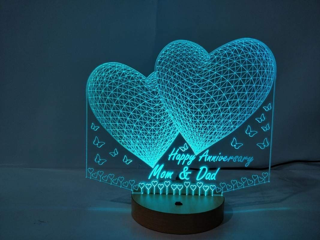 Special Gift Multi Color Led 3d Illusions Lamp