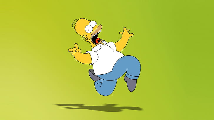 Hd Wallpaper Homer Simpson Digital Wallpaper The Simpsons Colored Background Wallpaper Flare Homer Simpson Character Wallpaper Cartoon