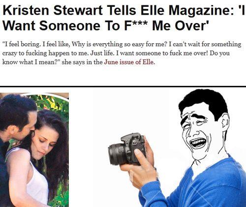 Kristen Stewart meme. #humor | Kristen stewart, Kristen ...