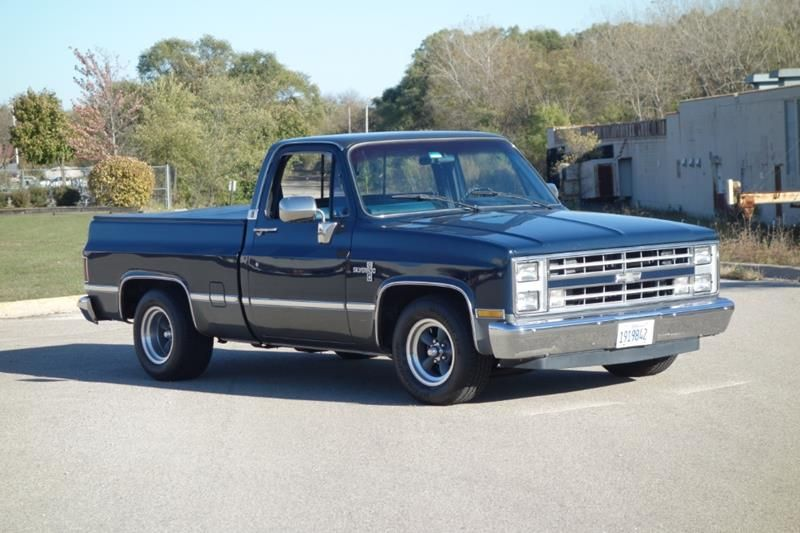1986 Chevrolet Ck 10 Series 2door Pick Up Truck Clean See Video For Sale Classic Pickup Trucks Trucks Old Trucks For Sale