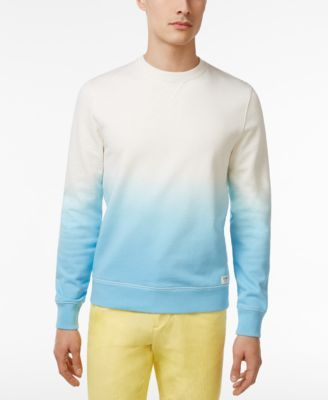 TOMMY HILFIGER Tommy Hilfiger Men'S Colorblocked Ombré French Terry Pullover. #tommyhilfiger #cloth # hoodies