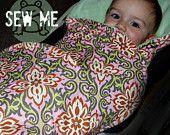 Car seat baby wrap