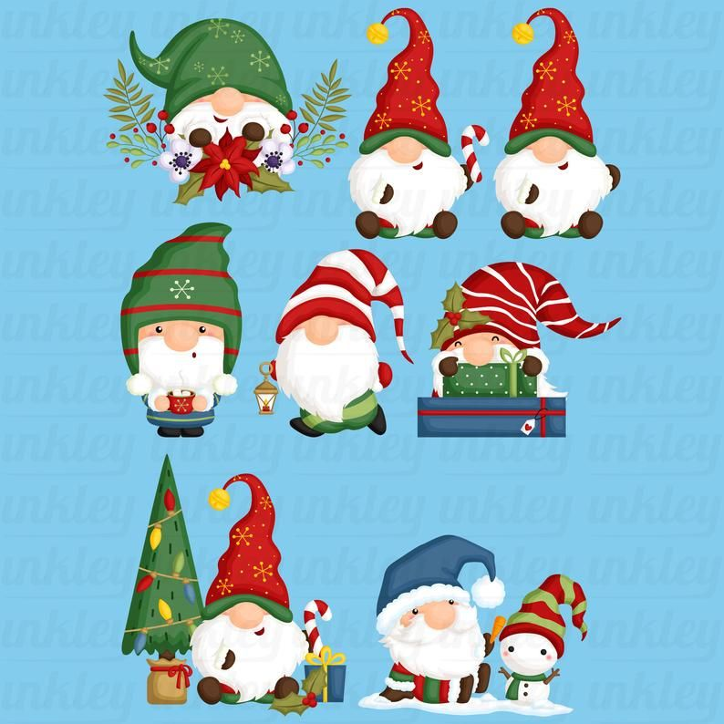 Christmas Gnome Clipart Cute Christmas Clipart Holiday Clipart Free Svg On Request Christmas Clipart Free Christmas Clipart Holiday Clipart