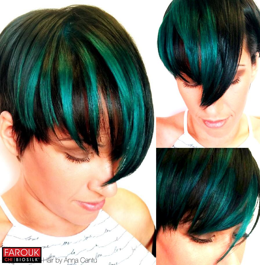 Color Fun With True Teal Chi Chromashine By Anna Cantu Inlove
