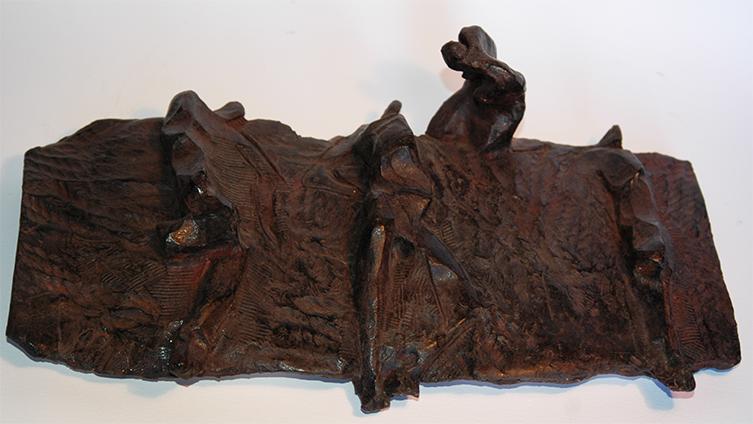 Pietat de Sarajevo - Bronze // Piety of Sarajevo - Bronze by Lau Feliu