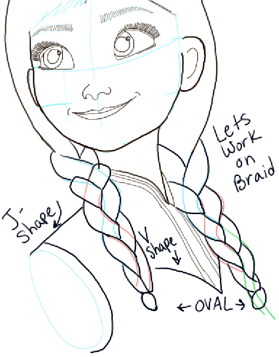 How to draw princess anna from frozen step by step tutorial how to draw step by step drawing tutorials