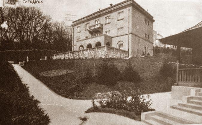 Zagreb 1934 Tuskanac Gvozd Vila Rein Zagreb Croatia Vila