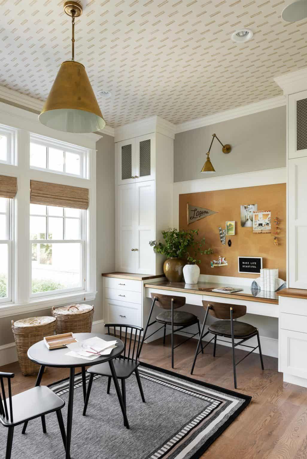 Basement Office Family Room Design Board In 2021 Dining Room Office Home Office Design Home