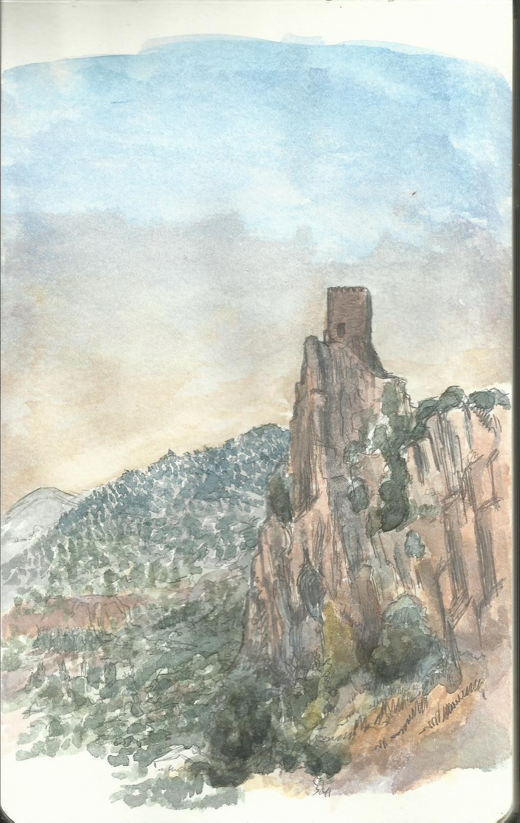 """Templar Castle """"La Iruela"""" (Jaen,Andalusia.Spain) AllrightsreservedtoBernardinoFernandezParra"""
