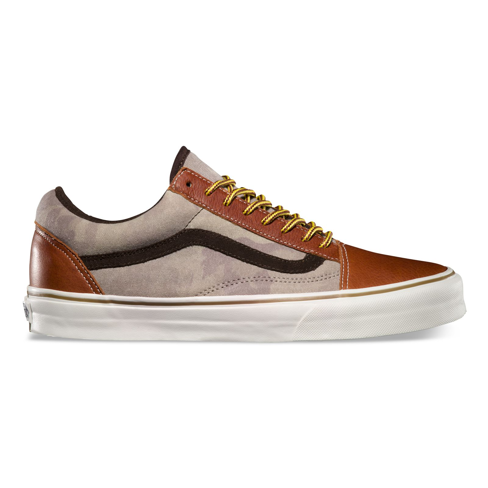 California Collection: Leather Old Skool Reissue CA: Henna