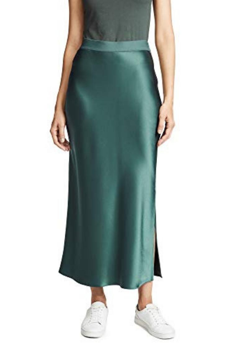 68f49c7345d2 Theory Women's Maxi Slip Skirt💗 #skirts #skirtcasualoutfit | Skirts ...