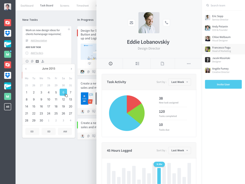 Employee Profile  Ui Design Mobile App Design And App Design
