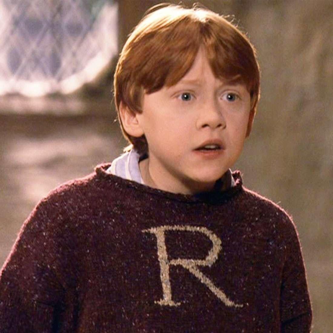Pullover R De Ron Weasley Bordeaux Xl Harry Potter Wizarding World Personnages Harry Potter Harry Potter Film Harry Potter