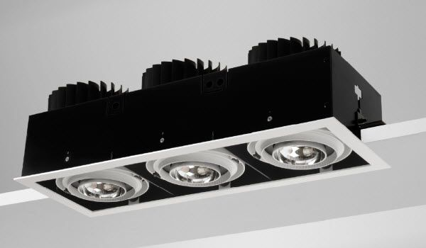 Quartet Qsg370 Recessed Square Xicato Led Gimbal Light Fittings From High Technology Lighting Recessed Lighting Light Fittings Downlights