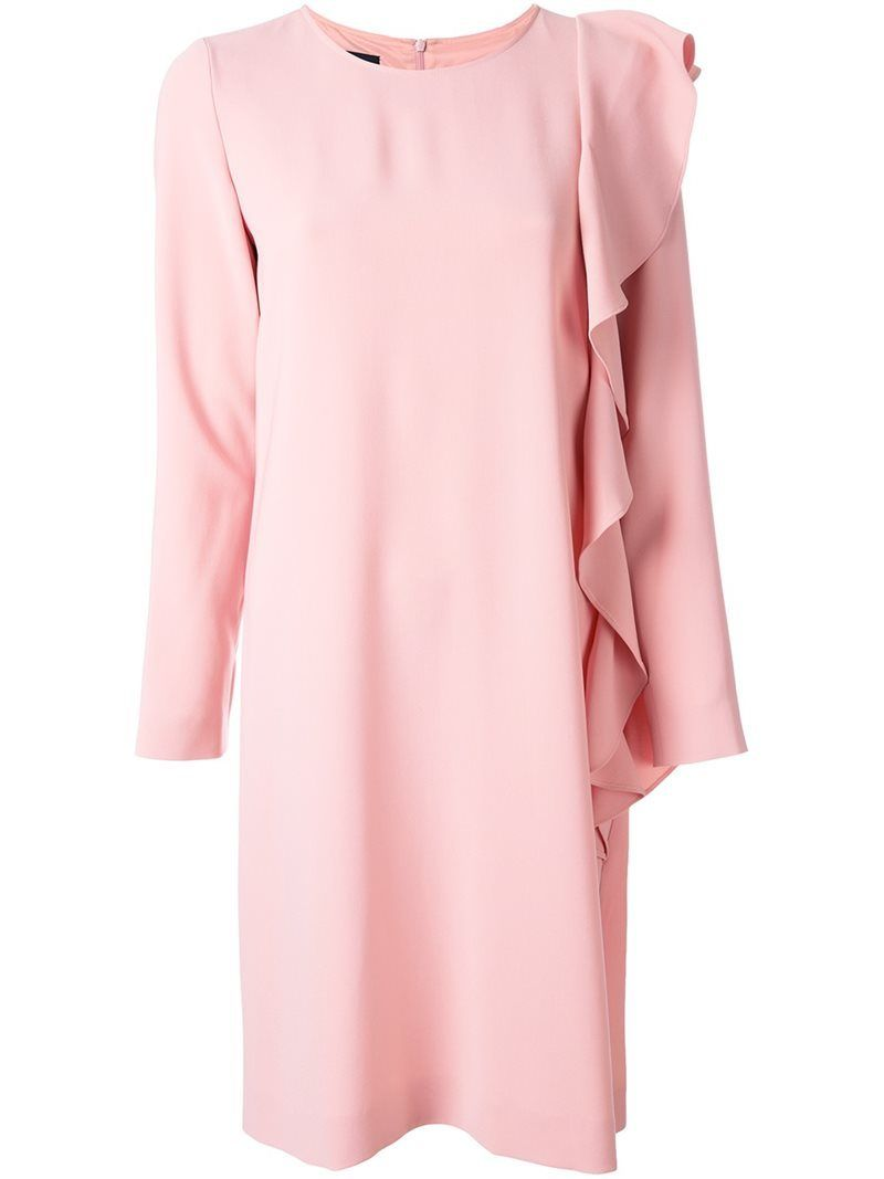 Dress for Women, Evening Cocktail Party On Sale, Pink, Triacetate, 2017, 8 Moschino
