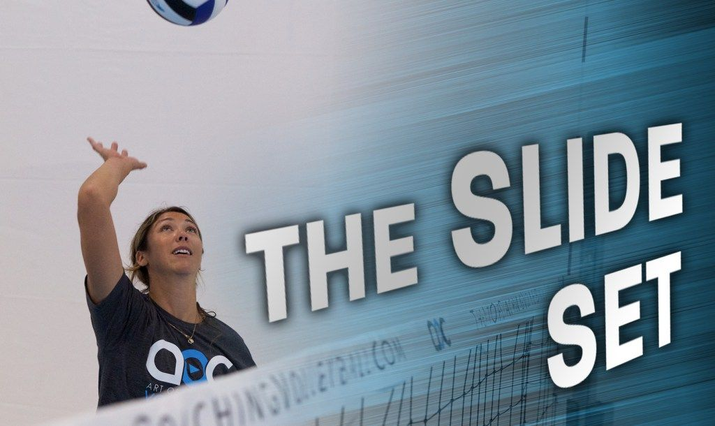 The Slide Set With Cary Wendell Wallin With Images Volleyball Drills Coaching Volleyball Volleyball Training