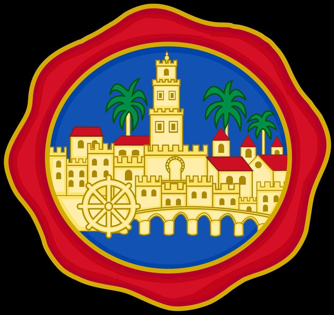 Escudo De La Capital De Cordoba Cordoba España Escudo Cordoba