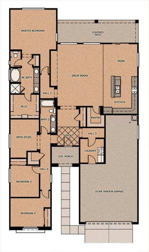 I Really Like This Floor Plan Fulton Homes Barcelona Fulton Homes Floor Plans House Floor Plans