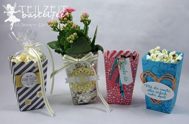 stampin 39 up thinlits popcorn schachtel popcorn box f r lieblingsmenschen love affection zum. Black Bedroom Furniture Sets. Home Design Ideas