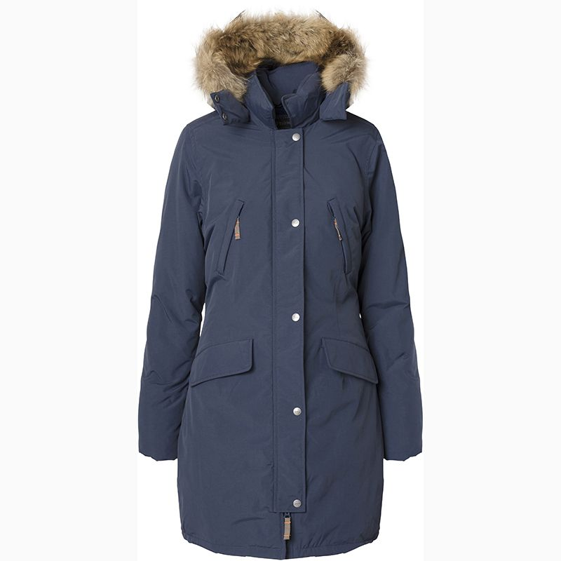 Et Phine by Ver de Terre down eskimo coat with fur for women. www ...