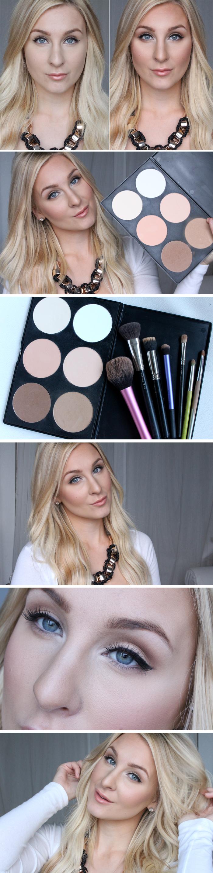 How To Use €� Contour & Highlight Kit! En M�ste Ha Produkt!
