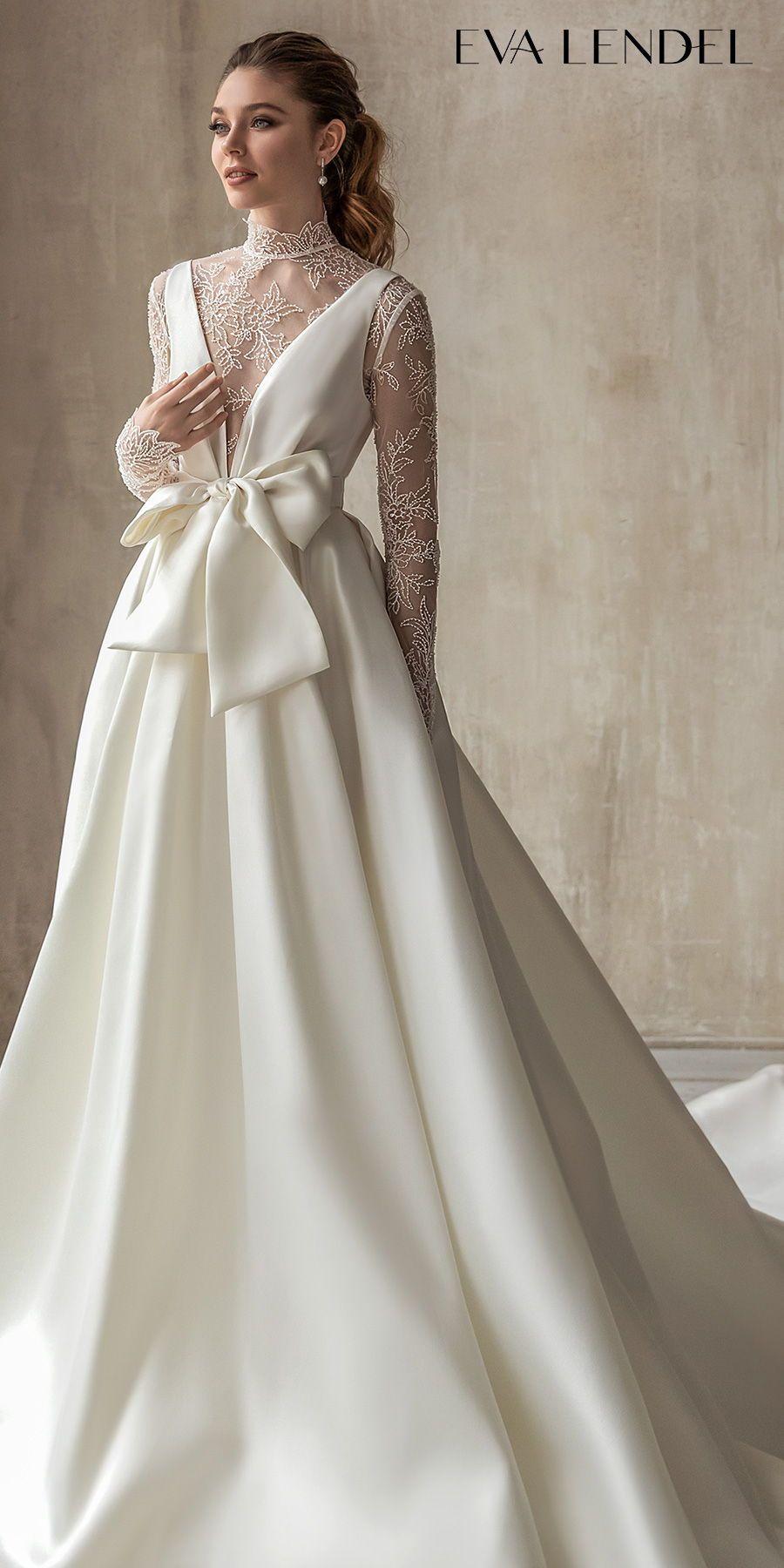 Eva Lendel 2021 Wedding Dresses Less Is More Bridal Collection Wedding Inspirasi Fashion Dresses Bridal Dresses Wedding Dresses