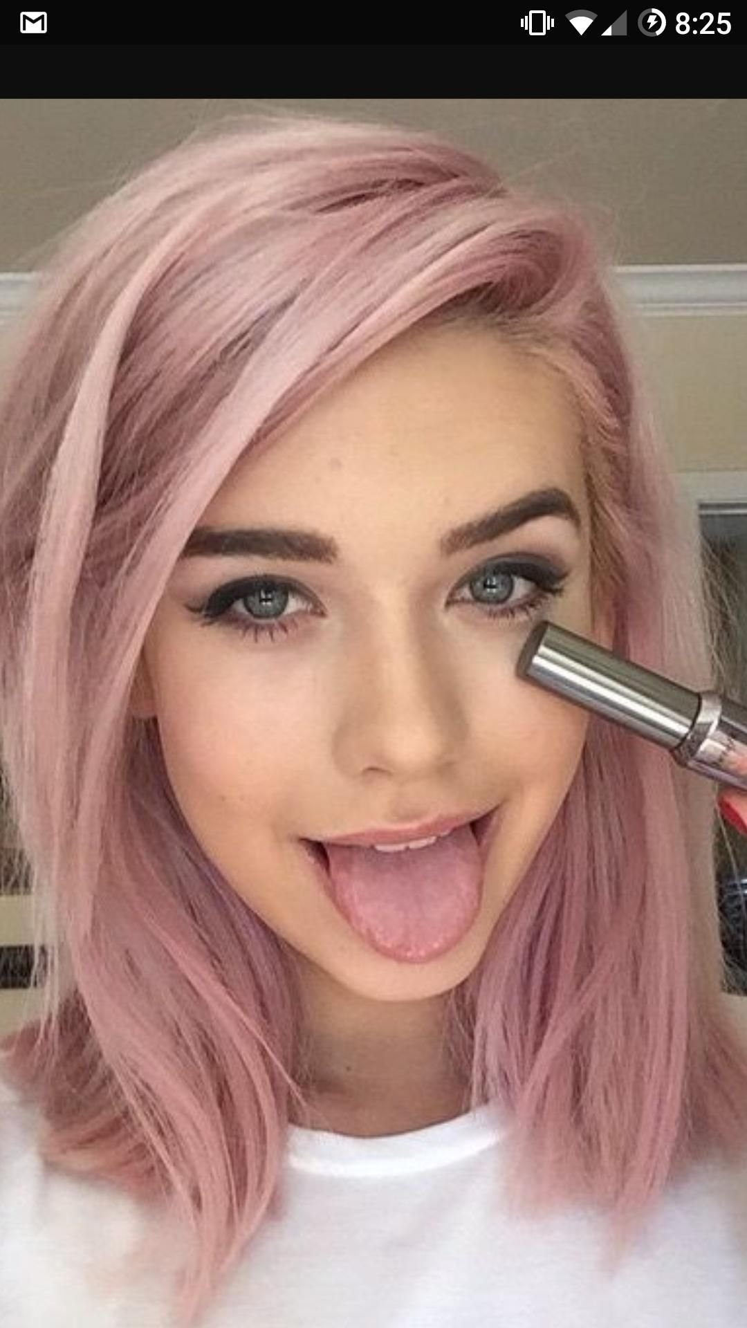 How To Achieve This Light Dusty Rose Starting With Fresh Bleach