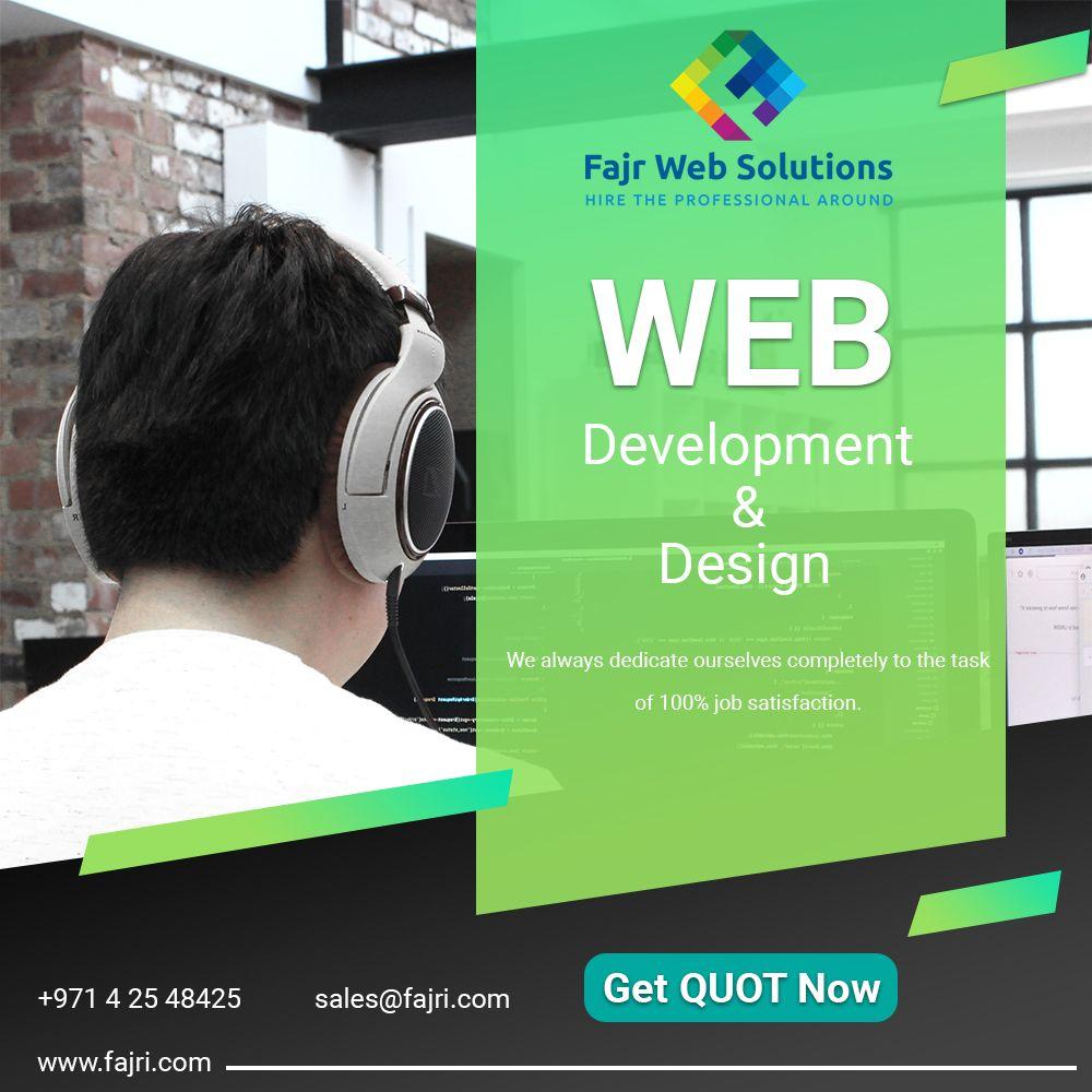 Web Design And Development Agency Dubai Uae In 2020 Web Development Design Top Web Designs Web Design Company