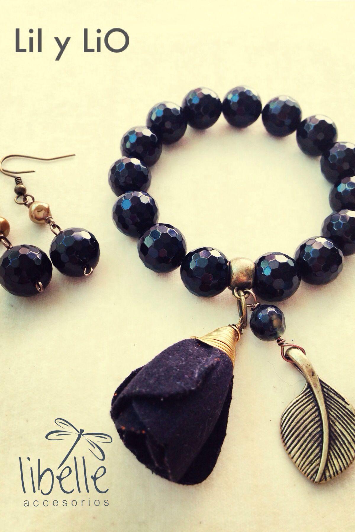 Pulsera ónix collares pinterest bracelets craft accessories