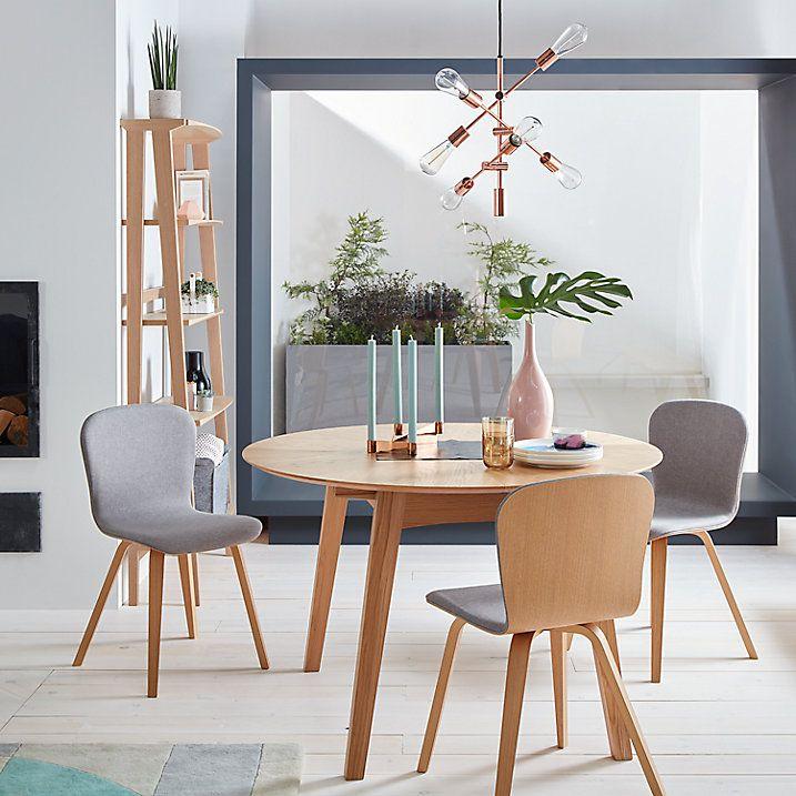 Buy John Lewis Duhrer 4 6 Seater Extending Round Dining Table Online At Johnlewis