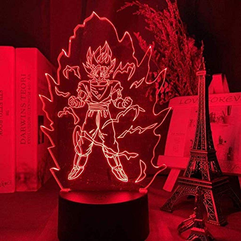 3d Nachtlicht 3d Lampe Dragon Ball Goku Gegen Jiren Figur Kinder Schlafzimmer Dekor Licht Kind Geburtstag A In 2020 Neonschild Nachtlicht Kreative Geburtstagsgeschenke