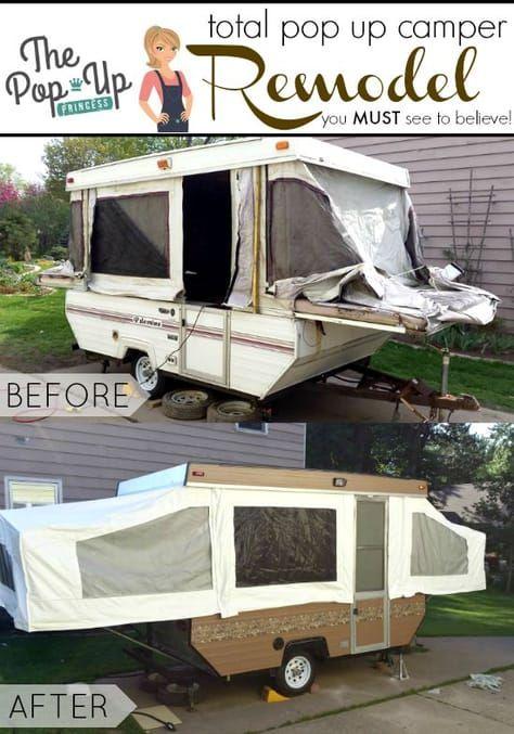 Robert S Pop Up Camper Remodel Camper Updatez Remodeled