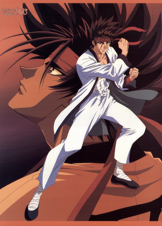 Sagara Sanosuke Rurouni kenshin, Kenshin anime, Anime