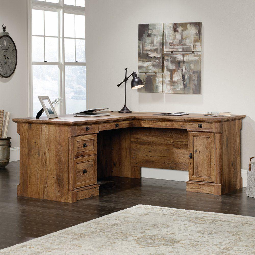 Sauder Palladia LShaped Desk L shaped desk, Cheap