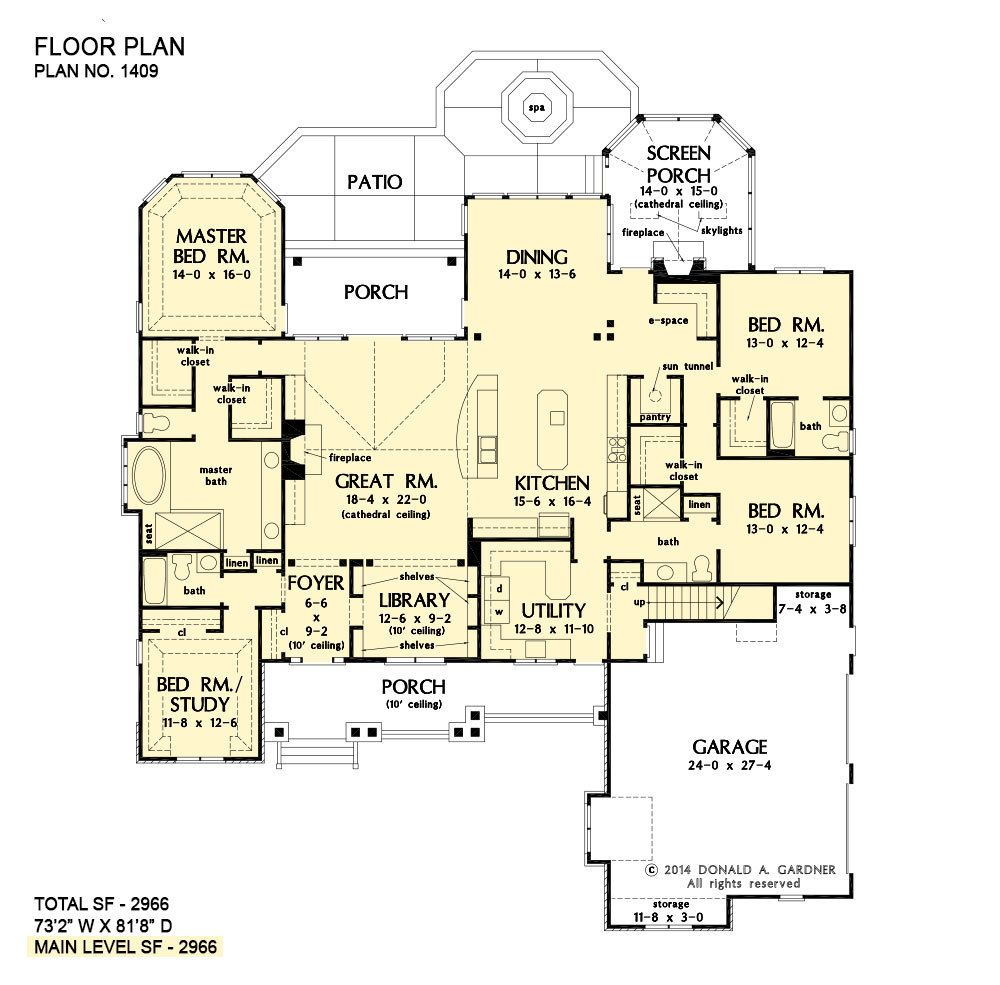House Plans The Austin Home Plan 1409 Luxury Ranch House Plans Family House Plans House Floor Plans