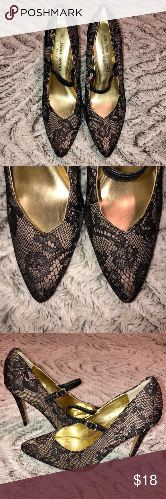 MAKE OFFER! Julianne Hough for Solesociety Heels Super cute laced Julianne Hough heels! Sole Society Shoes Heels #juliannehoughstyle MAKE OFFER! Julianne Hough for Solesociety Heels Super cute laced Julianne Hough heels! Sole Society Shoes Heels #juliannehoughstyle
