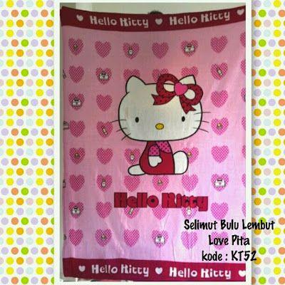 Toko Cherish Imut Selimut Hello Kitty Grosir Murah Ecer Bulu
