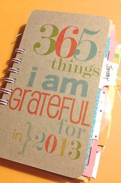 Grateful journal...